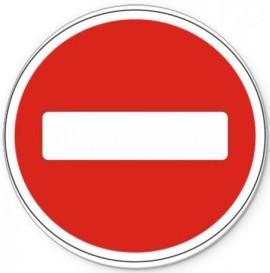 Дорожные знаки круг